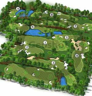 Golf Hole Graphics