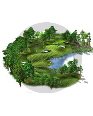 3D Golf Graphics