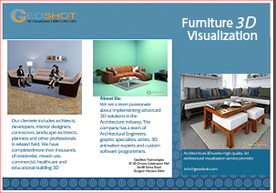 Furniture 3D Visualisation